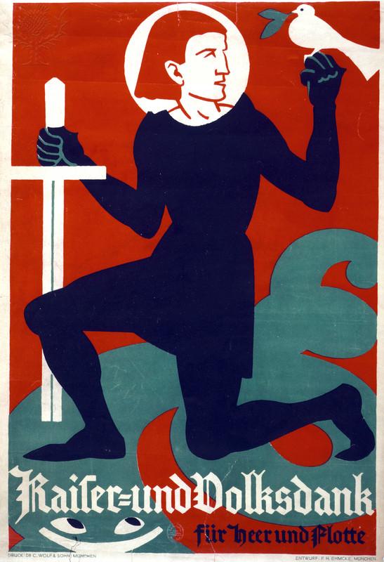 war poster: gratitude of the kaiser
