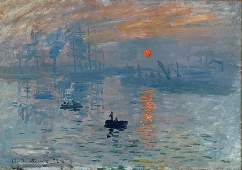 Impression: Sunrise, Claude Monet, 1872