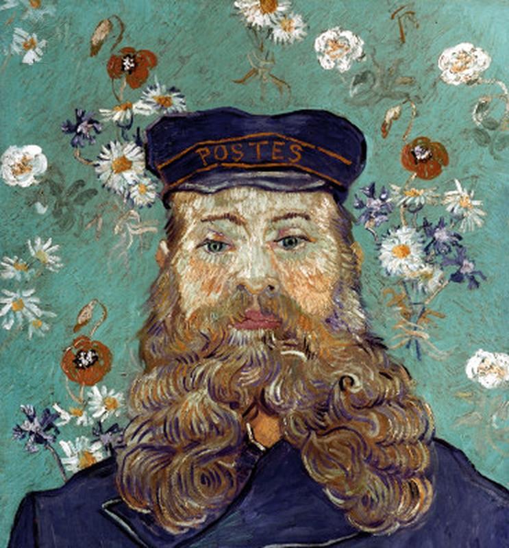 The Postman, Vincent Van Gogh, 1889