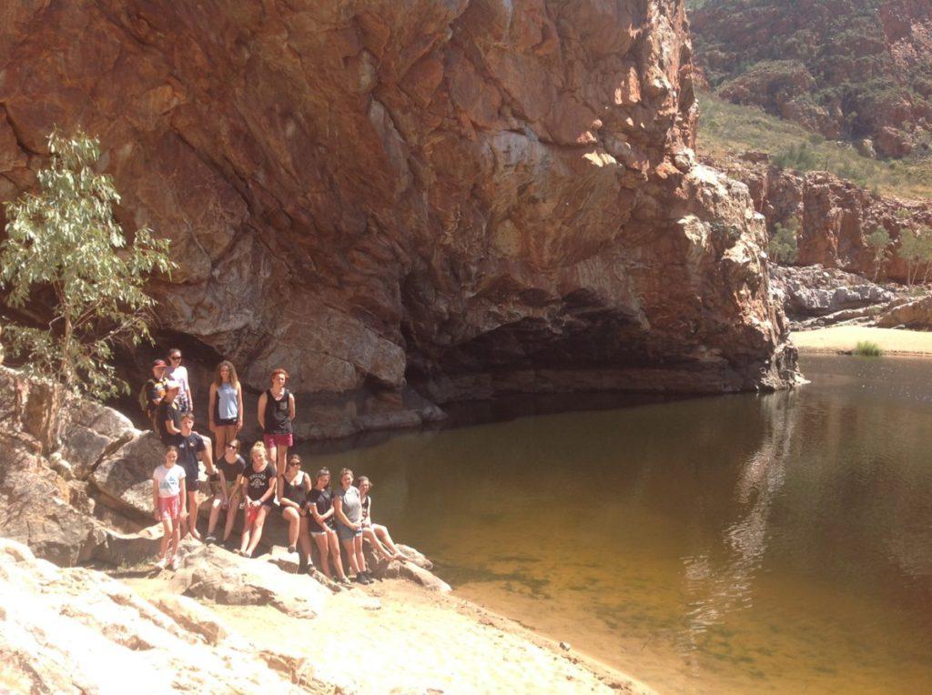 Aboriginal Students at Ormiston Gorge