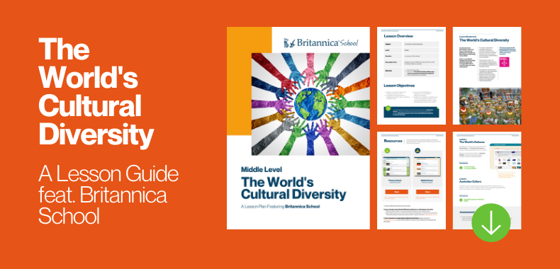 Teaching with Britannica School: World's Cultural Diversity