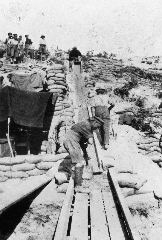 Mining At Gallipoli