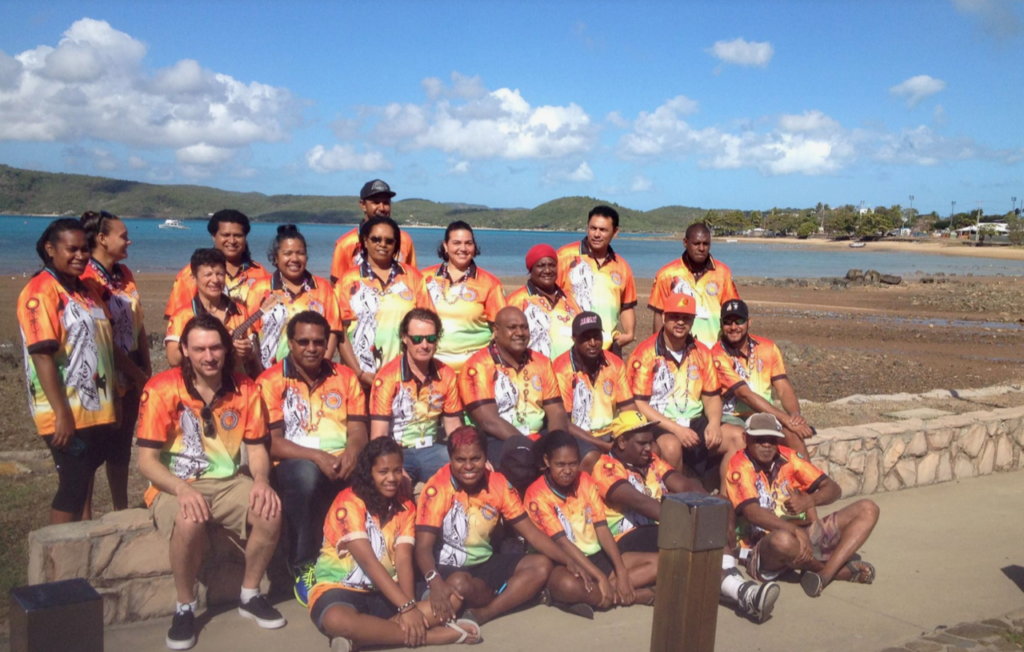 My Island Home Project Artists on Thursday Island