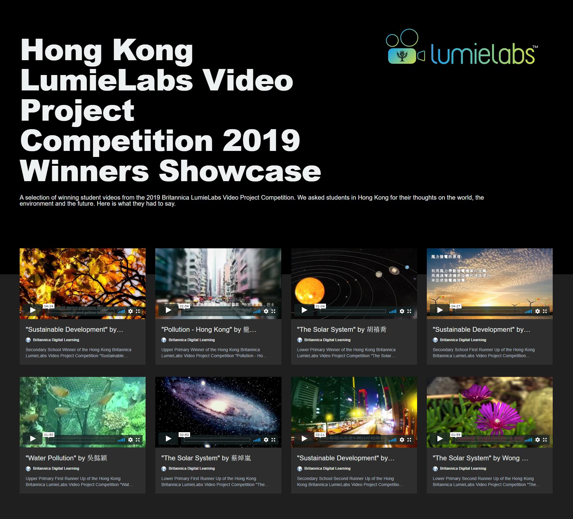 Winners Showcase